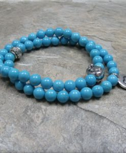 turquoise paw heart bracelet2