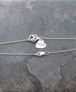 paw mom sterling bracelet3