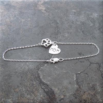 paw mom sterling bracelet3