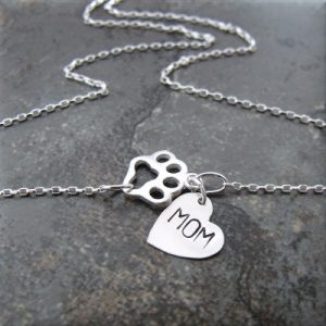 paw mom sterling necklace4